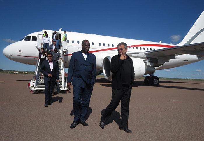 Tournée du PDG du groupe EBOMAF