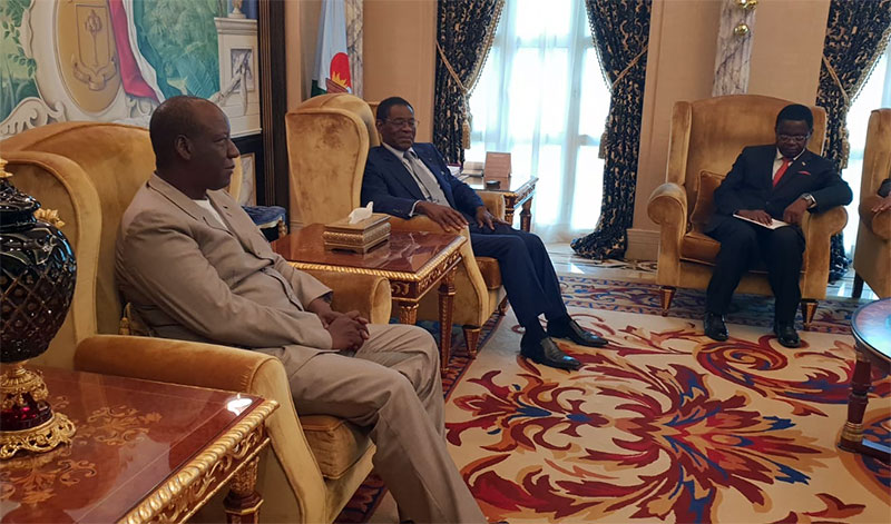 Le Président du Groupe EBOMAF reçu par le président équato-guinéen Teodoro Obiang Nguema
