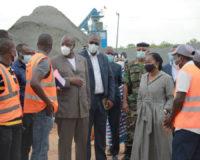 EBOMAF-TOGO: Le Premier ministre togolais satisfait de l'avancement de Lomé-Kpalimé