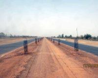 EBOMAF-BF: La section Sud de la voie du contournement débouche déjà sur la RN6, route de Léo